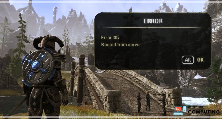 How to Fix ESO Error 307- Booted from Server (2020)
