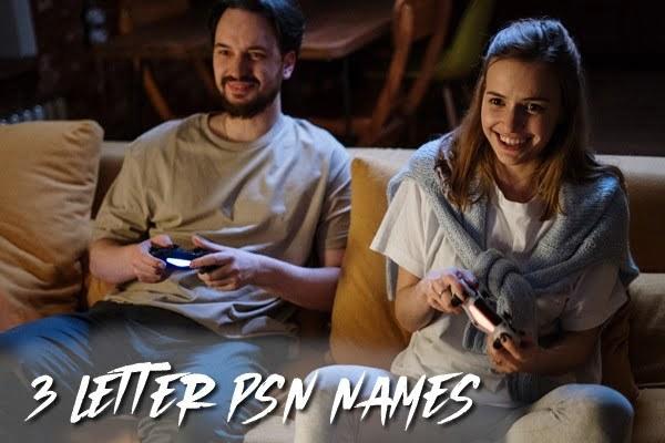 3 letter PSN names