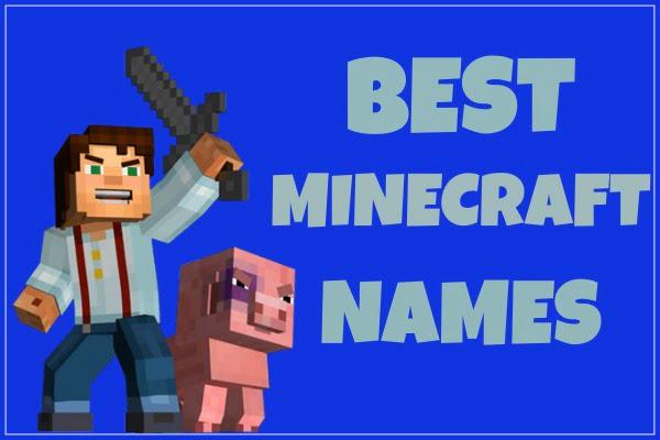 Best Minecraft Names Ideas (2020)