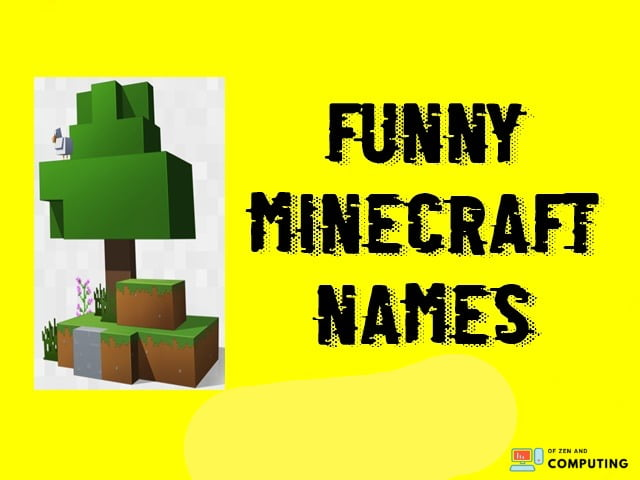 Funny-minecraft-names