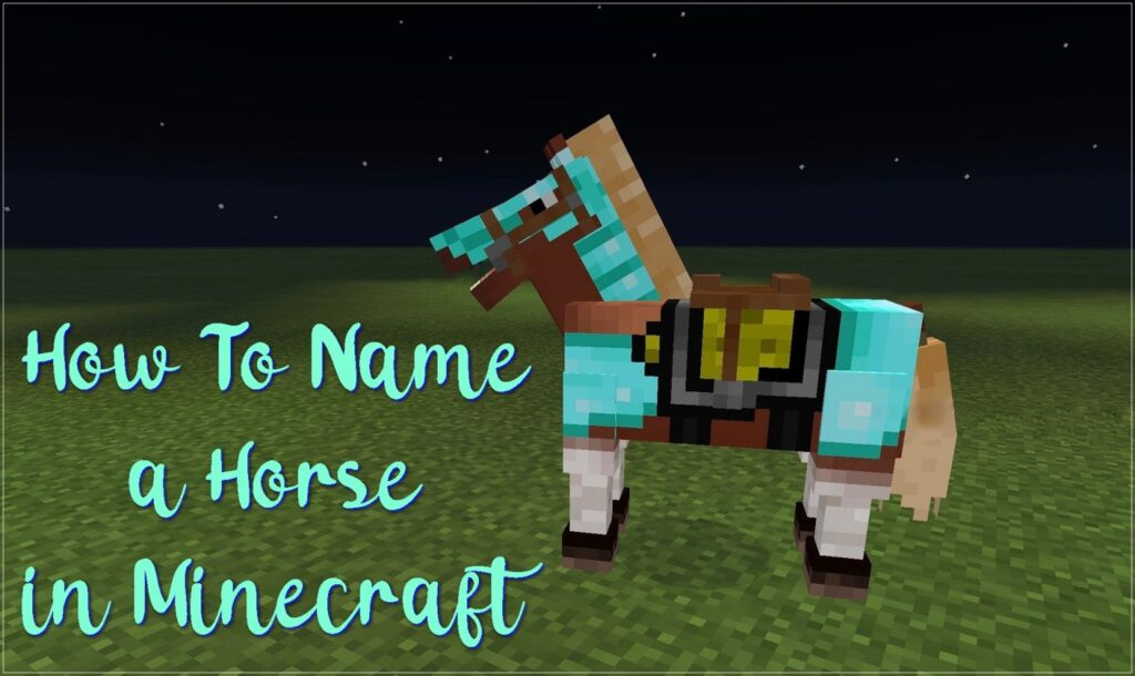 How to Name a Horse in Minecraft (2020)