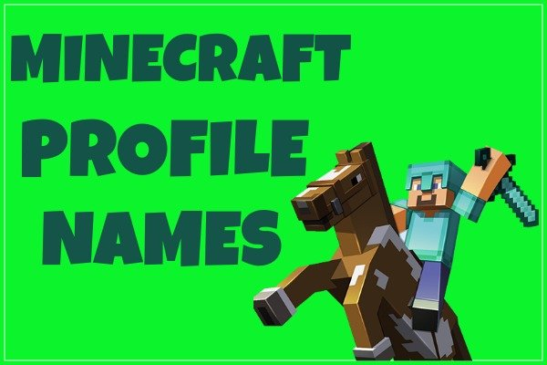 Minecraft Profile Names (2020)