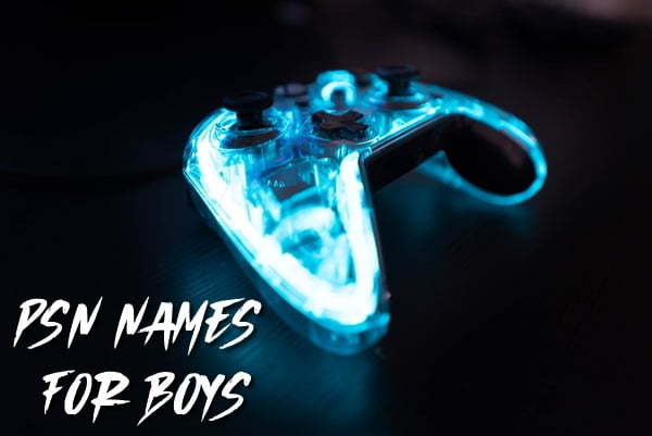 PSN names for boys ps4