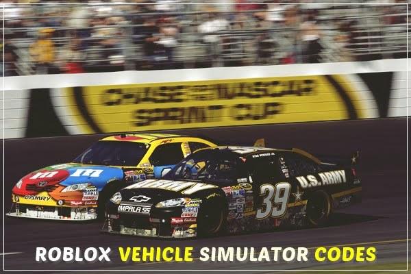 Roblox Vehicle Simulator Codes (2020)