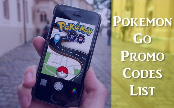 All New Pokemon Go Promo Codes List (2020)