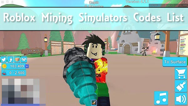 All New Roblox Mining Simulator Codes (2020)