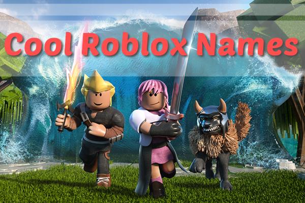 Cool Roblox Usernames (Names) 2020