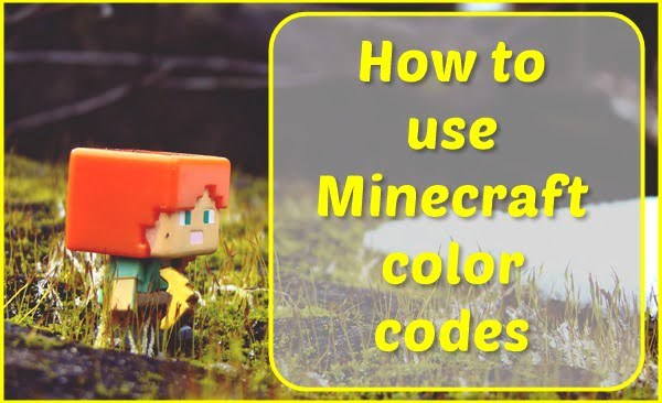 How to Use Color Codes for Minecraft?
