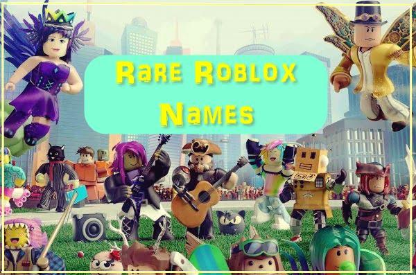 Rare Roblox Usernames 2020 (Names)