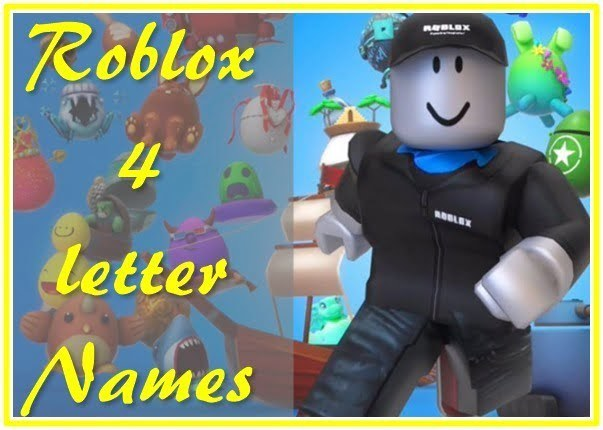 Roblox 4 Letter Names (Usernames) 2020