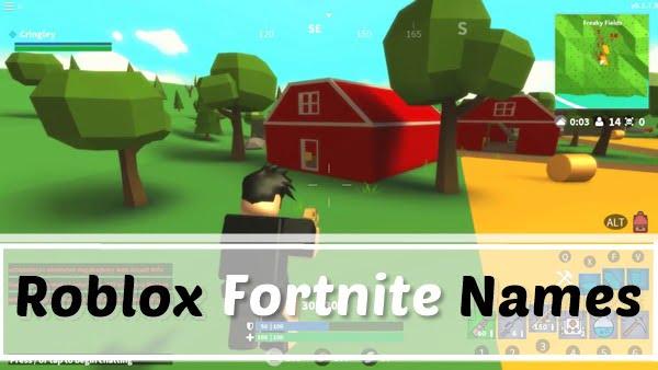 Roblox Fortnite Names (Usernames) 2020