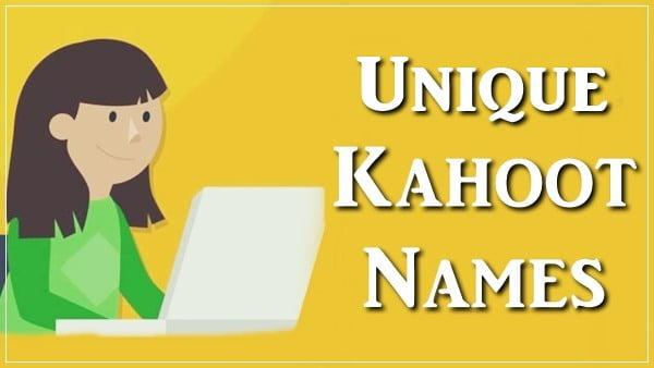 Unique Kahoot Names (Unused)