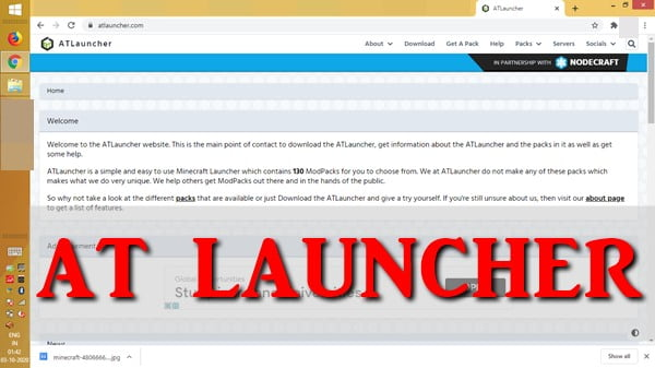 at-launcher-How to Allocate More RAM to Minecraft Server Using Launchers?