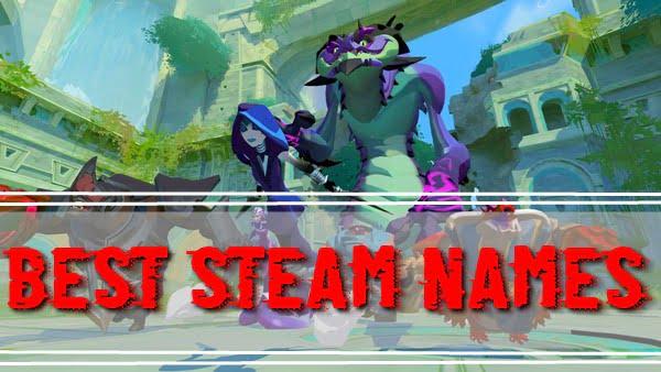 Best Steam Names (2020)