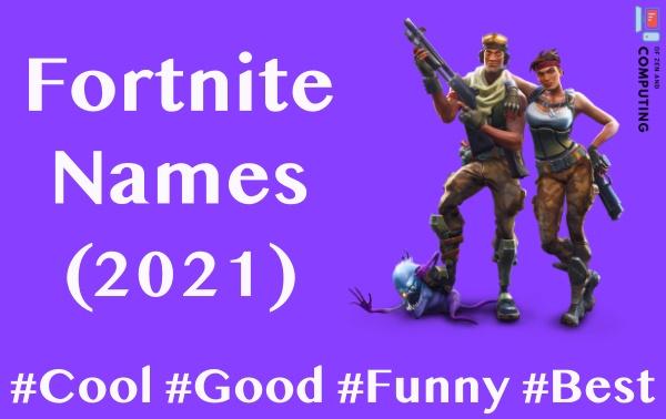 Cool Fortnite Names 2021 (Not Taken) Good, Funny, Best