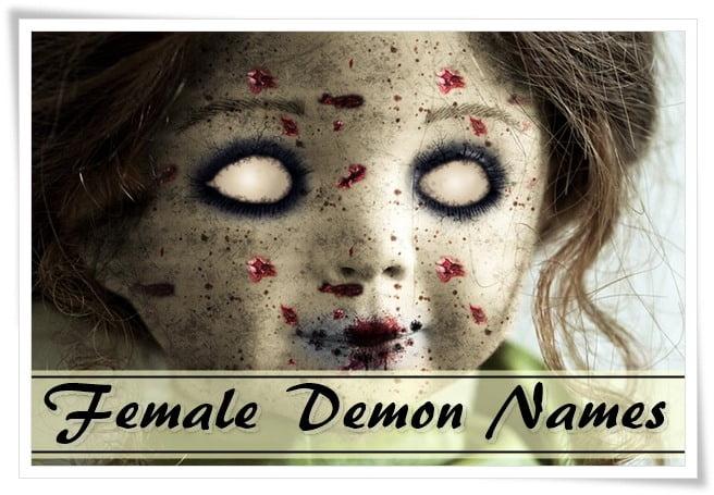 Female Demon Names