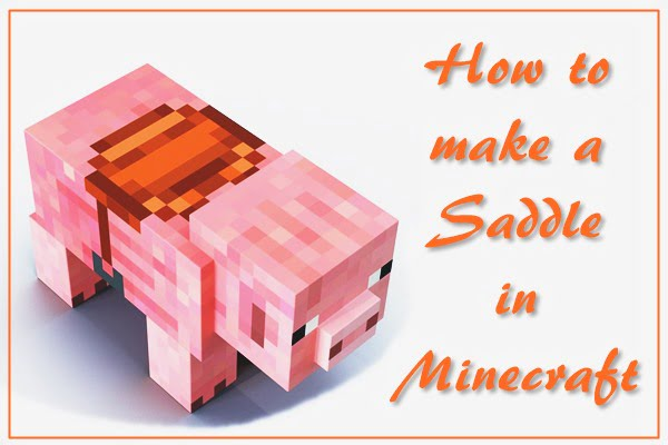 How to Make a Saddle in Minecraft (2020)
