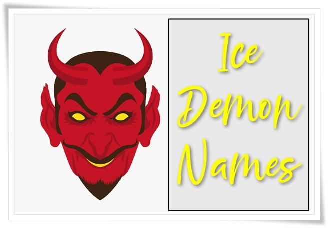 Ice Demon Names