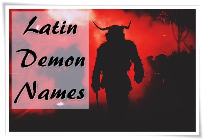 Latin Demon Names