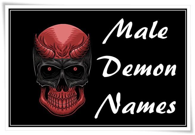 Male Demon Names