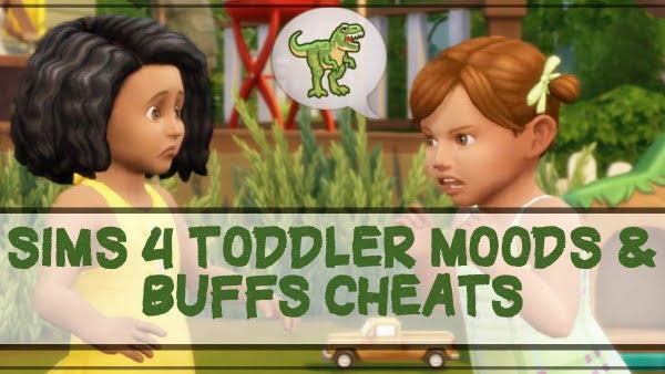 Sims 4 toddler Moods & Buffs cheats