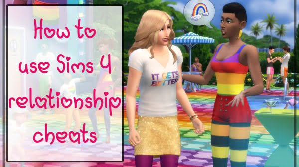 How to use sims 4 relationship cheats