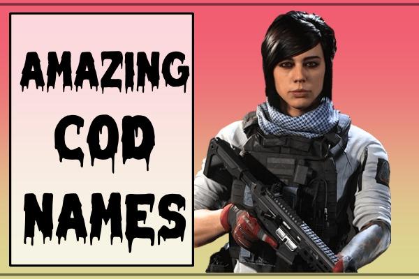 Amazing COD Names (2021)