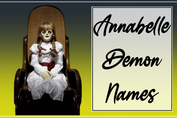 Annabelle Demon Names