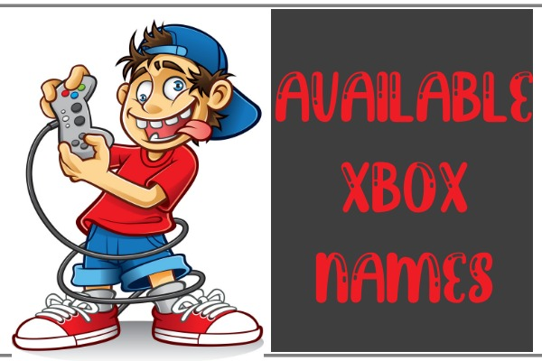 Available Xbox Names / Gamertags