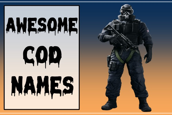 Awesome COD Names (2021)