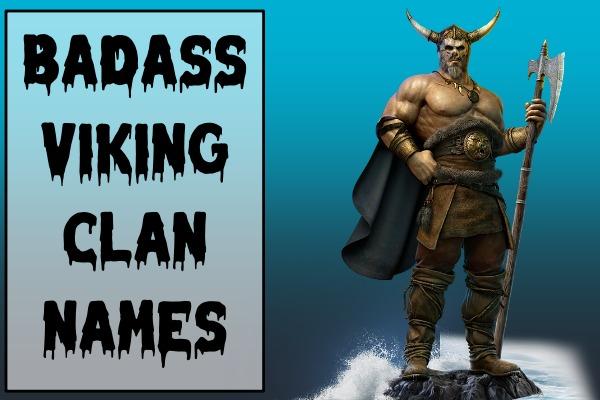 Badass Viking Clan Names (2021)