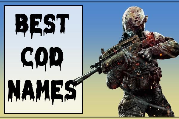 Best COD Names (2021)