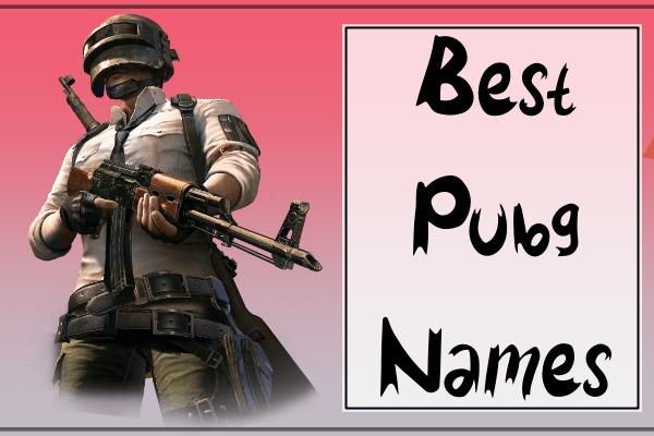 Best PUBG Names (2021)