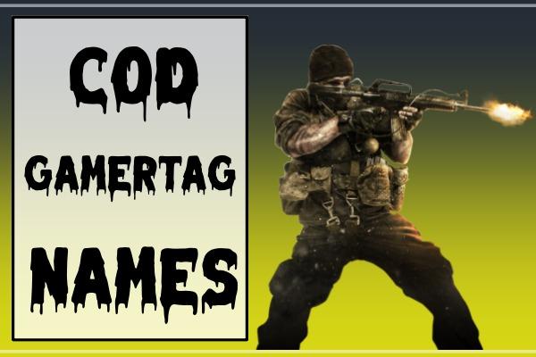 COD Gamertags Names (2021)
