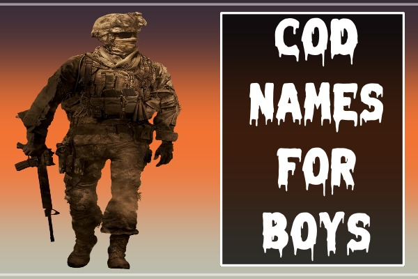 COD Names For Boys (2021)