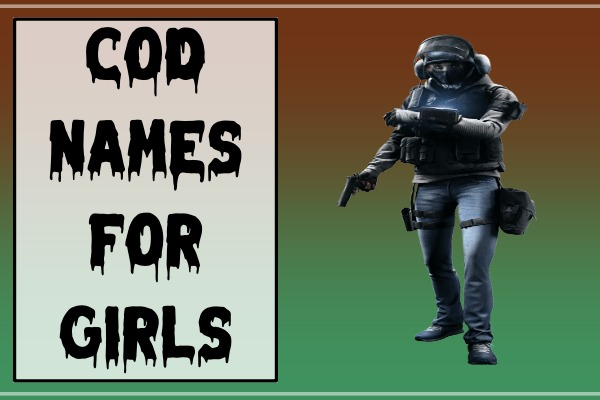 COD Names For Girls (2021)