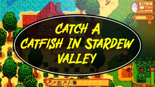 How to Catch A Catfish In Stardew Valley?