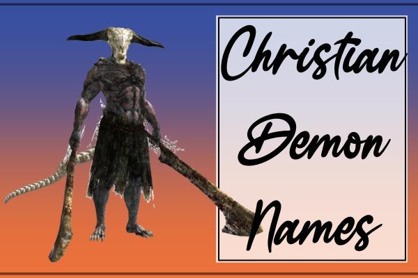 Christian Demon Names