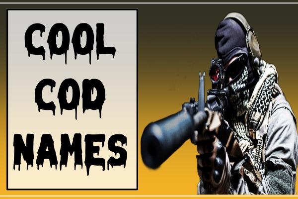 Cool COD Names (2021)