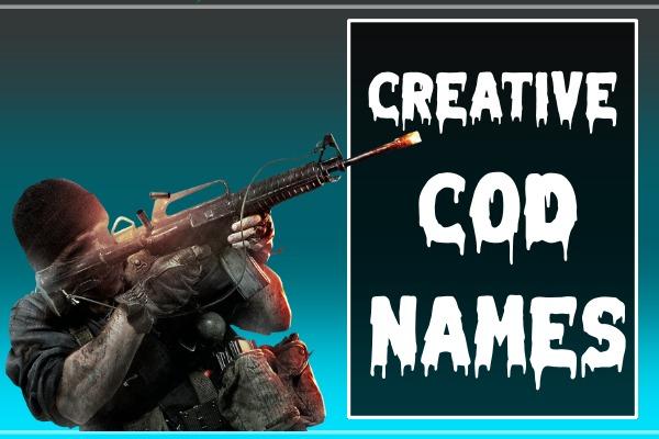 Creative COD Names (2021)