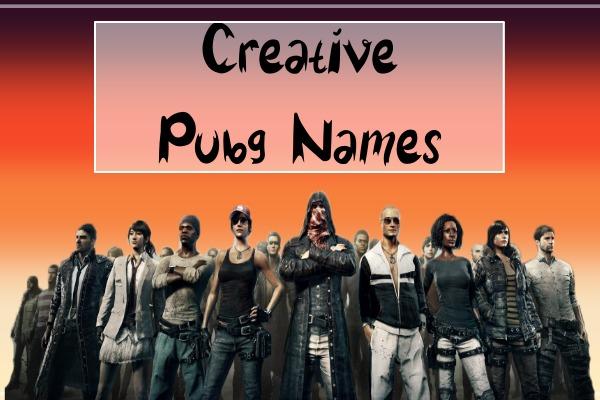 Creative PUBG Names (2021)