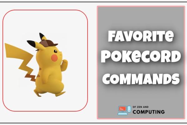 Favorite Pokecord Commands