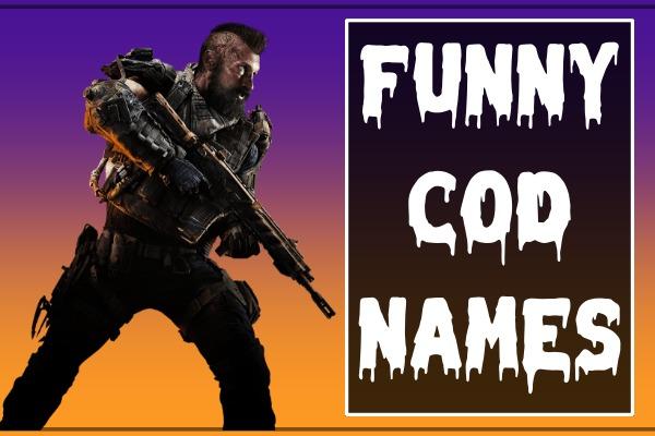 Funny COD Names (2021)