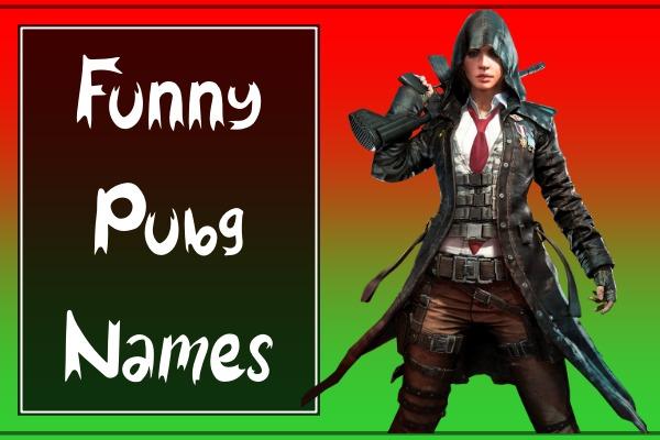 Funny PUBG Names 2021 (Hilarious)