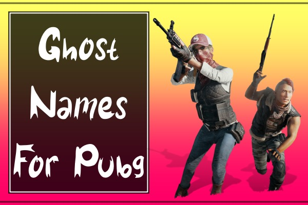 Ghost Usernames For PUBG Mobile (2021)