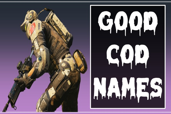 Good COD Names (2021)