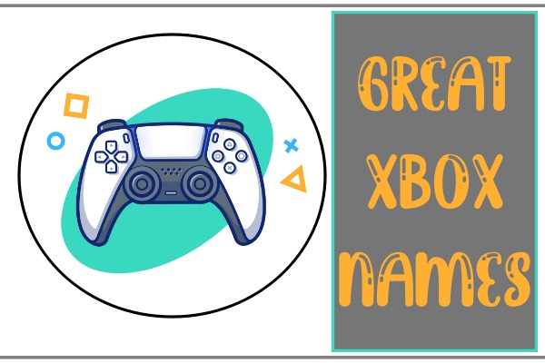 Great Xbox Names (2021)