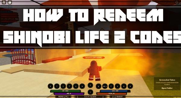 How to Redeem Shindo Life (Shinobi Life 2) Codes?