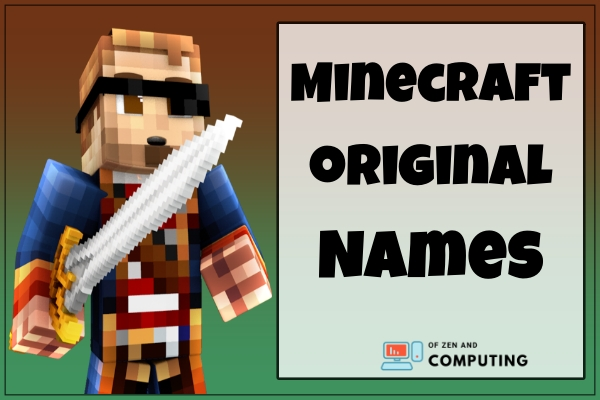 Minecraft Original Names