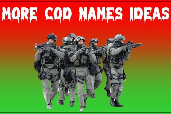 More COD Names Ideas (2021)